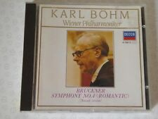 Bruckner Symphony 4 Wiener Karl Bohm  Silver CD West Germany Decca 4115812