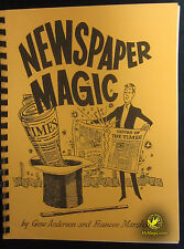Gene Anderson's Newspaper Magic :: 1968