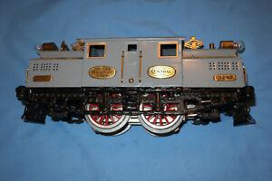 IVES #3242 Standard Gauge 0-4-0 Electric Locomotive w/Reverse. Runs well