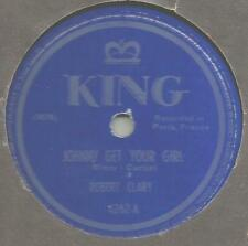 RARE 78 Rpm Record Robert Clary Johnny Get Your Girl / Put Your Shoes On Lucy