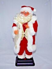 Gemmy  Santa Claus with List Animated Sings Santa Claus is Coming to Town