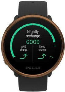 POLAR IGNITE Fitness Smart Watch Advanced Waterproof Precision Heart Rate Black