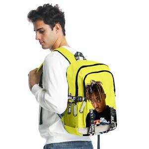 25 Styles Juice Wrld Backpack Travel Gym Laptop Bag Shoulder Schoolbag 3D Print