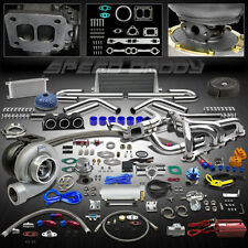 GT45 24PC T4 TURBO KIT+MANIFOLD+INTERCOOLER CHEVY SMALL BLOCK SBC CAMARO/PICKUP