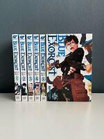 Blue Exorcist Manga Series 1-5,15  ENGLISH VIZ SHONEN Graphic Novel Lot RARE OOP