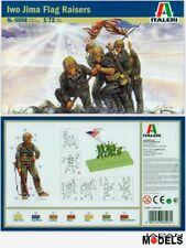 IWO JIMA FLAG RAISERS Italeri No.6098 1/72 Model Kit Figurini Storici Soldatini