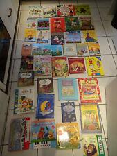 Bücherpaket 40 Kinderbücher Märchen Klangbücher + 12 Plüschtiere + Allerlei