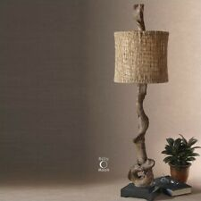 Uttermost Driftwood Buffet Lamp in Weathered Driftwood