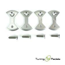 Titan plaques pour speedplay zero pédales + titane Boulons - 24 G