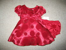 """NEW """"HOLIDAY CIRCLE"""" Double Sparkle Dress Girls 24m Baby Boutique Winter Clothes"""