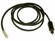 """Battery Charger Lead with HELLA/DIN Accessory Plug – 2 Metre (200cms - 79"""")"""