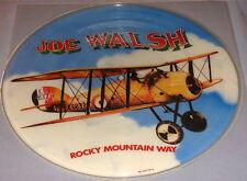 JOE WALSH ROCKY MOUNTAIN WAY ORIGINAL PICTURE DISC LP 1973
