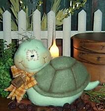 Primitive Turtle Tortoise Garden Doll Ornie Paper Pattern 469