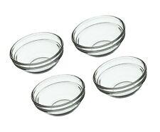 KitchenCraft Glass Pinch Bowls / Sauce Pots, 55 ml (2 fl oz) (Set of 4)