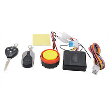 Motorcycle Motorbike Scooter Anti-theft Security Alarm With Remote 125db 12V