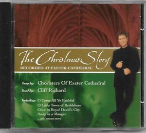 RARE Cliff Richard The Christmas Story Premier Christian Radio CD OOP