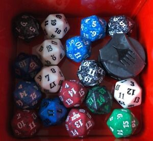 MTG Spindown   Magic the Gathering   Life Counters   Dice Die D20 DnD D&D