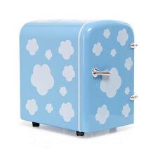 New Portable Refrigerator 4 Liter Mini Cooler & Warmer, Cosmetic Fridge Sky Blue