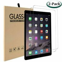 2 Pack HD Tempered 9H Glass Screen Protector Ultra Clear For Apple iPad Mini 4 5