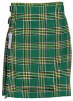 Irish Heritage Men's 5 Yard 13oz Casual Wear, Light Weight, Scottish Tartan Kilt