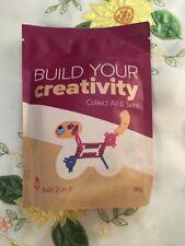 Wendy's Build Your Creativity Smart Links with Dog/Charm Bracelet Toy NIP