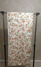 Waverly Charleston Floral Fabric Coral Crease Resistant Chintz 5 Yards Vintage