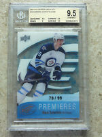 11-12 UD Ice Premieres RC Rookie #103 MARK SCHEIFELE /99 Graded BGS 9.5