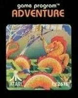 Adventure - Atari 2600 Game Authentic