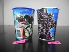 NEW!! SET OF 2 TRANSFORMERS PLASTIC CUPS PARTY FAVORS OR GIFT A5-12,13