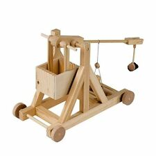 Timberkits Trebuchet Model Kit Mechanical Wooden Self Assembly Moving Automata