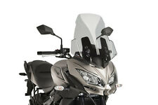 PUIG TOURING SCREEN KAWASAKI VERSYS 650 17-18 LIGHT SMOKE