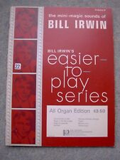 Bill Irwin Vol 6: Taboo, Perfidia, Without You, Yellow Days, Come Closer To Me