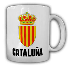 Cataluña Spanien Wappen Fahne Catalunya Region Katalonien Urlaub Tasse #20153
