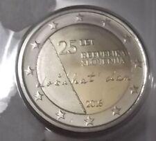 Pièces euro de la Slovénie pour 2 euro Année 2016