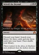 Shadows Over Innistrad ~ BEHOLD THE BEYOND mythic rare Magic the Gathering card