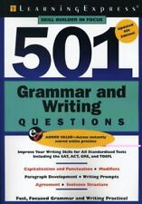 501 Grammar and Writing Questions: Fast, Focused Practice (501 Series) by Learn
