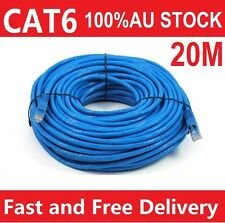 20M Ethernet LAN Network Cable 100M/1000Mbps High Quality RJ45 CAT6