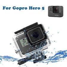 45M Camera Diving Underwater Housing Case Waterproof Cover For Gopro Hero 5 New