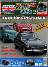 British Classic Cars 3 04 2004 MGB GT Roadster Morris Minor Sprite Frogeye SS90
