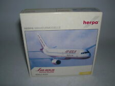 "Herpa Wings Air Berlin Airbus A320 "" Fly Euro Shuttle !"" 1:400 Item 561471"