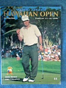 1996 United Airlines Hawaiian Open Program; PGA Tour; Golf; Sports; Jim Furyk