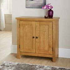 Generous oak compact Wiltshire Compact Sideboard an elegant look to any home.