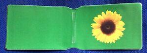 London Underground TFL sunflower design train tube ticket holder/wallet new
