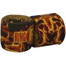 "New Ringside Apex Kick Boxing MMA Handwraps Hand Wrap Wraps 180"" - Lava"