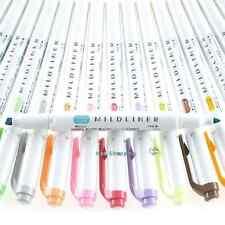 Zebra Mildliner Soft Color Double-Sided Highlighter Marker - select one color-