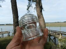 """Masthead Light Lens - Anchor Light Lens - Kopp Type A 31/2"""" x 23/4"""" Fresnel Lens"""