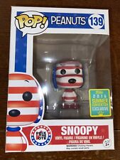 Funko Pop Peanuts Snoopy Rock The Vote 2016 Summer Convention #139