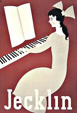 Art Ad Jecklin Pianos Piano  Deco Poster Print