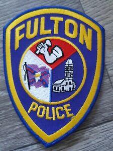 US Fulton Police Badge