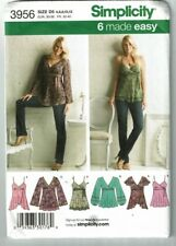 Simplicity #3956 Pretty Tops with Variations Pattern Sz 4-12 UC